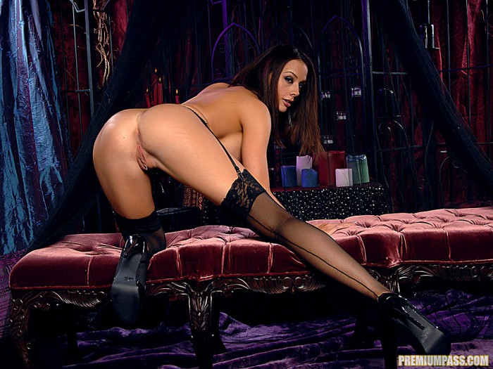 Chanel Preston Stripped